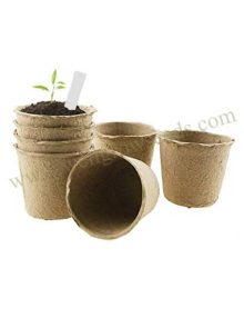 Biodegradable Pulp Pots